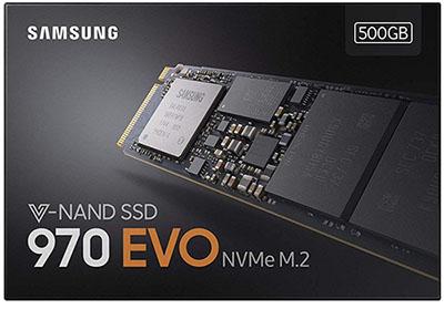 Bon Plan : le SSD NVMe Samsung 970 EVO de 500 Go à 118 euros