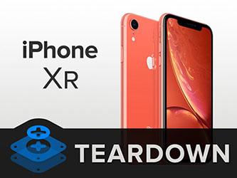 L'iPhone XR se fait démonter par iFixit qui lui donne un 6 sur 10
