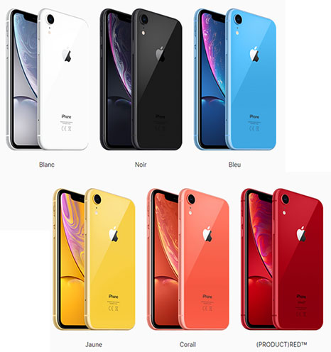 L'iPhone XR est disponible à la vente !