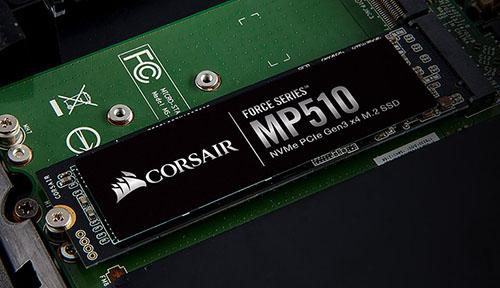 Un SSD M.2. NVMe abordable aussi chez Corsair : le MP510 !