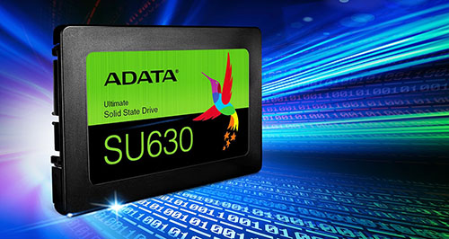 ADATA sort le SU630 : un SSD en NAND Flash QLC