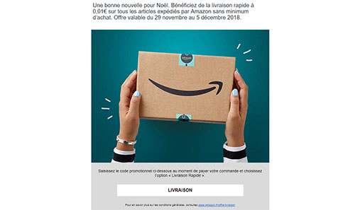 Bon Plan : Amazon.fr propose la livraison à 1 centime pendant une semaine
