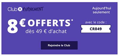 Bon Plan : 8€ de remise aujourd'hui sur le site Rakuten / Priceminister