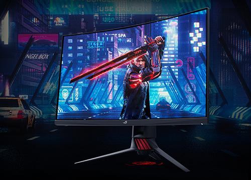 ASUS ROG XG32VQR : un 32″ WQHD incurvé pour les gamers