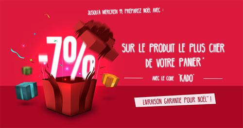 Bon Plan : Materiel.net offre 7% de remise sur le produit le plus cher de votre panier