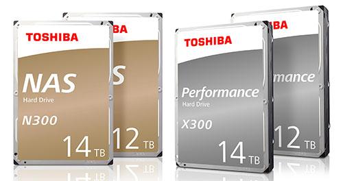 Toshiba sort l'artillerie lourde avec des disques durs de 12 et 14 To pour les PC et les NAS