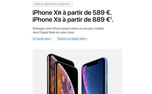 Apple rachète votre ancien iPhone (une bouchée de pain) pour vous inciter à prendre le dernier modèle