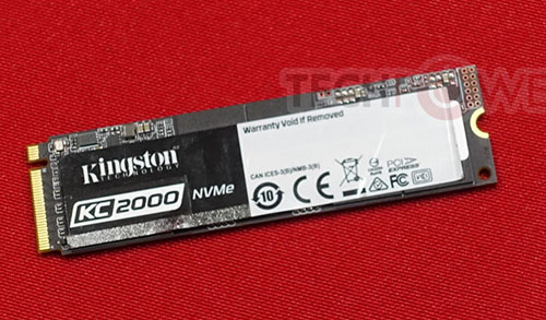Kingston lance un nouveau SSD M.2. NVMe : le KC2000