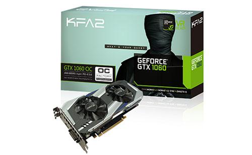 Bon Plan : 197€ la GeForce GTX 1060 OC 6 Go de KFA2