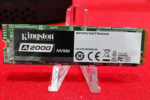 Kingston présente au CES le A2000 : un SSD NVME d'entrée de gamme