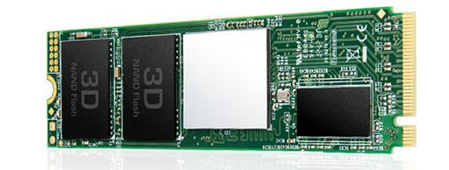 Transcend MTE220S : une nouvelle gamme de SSD M.2. NVMe