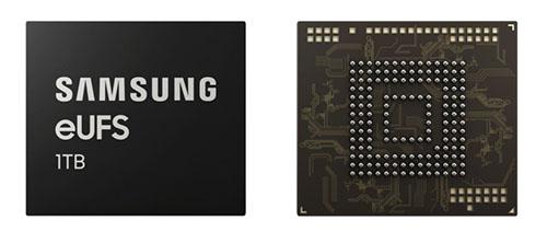 Bientôt des smartphones avec 1 To de stockage grâce à Samsung ?