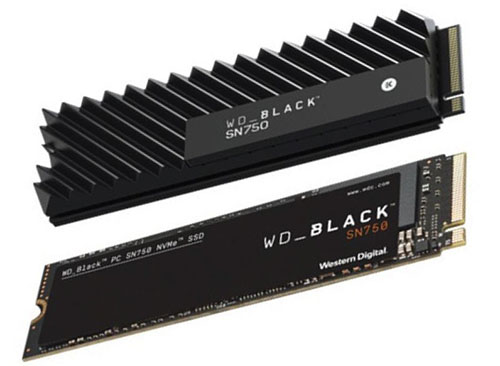 Bon Plan – Black Friday : 87€ le SSD NVMe WD Black SN750 de 500 Go