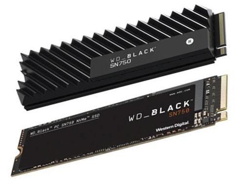 Western Digital lance les SSD NVMe WD Black SN750