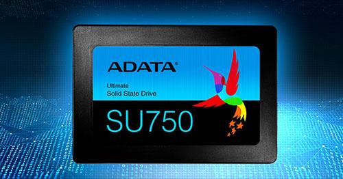 SU750 : une nouvelle de série de SSD d'entrée de gamme chez ADATA