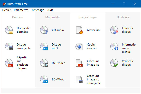 Toujours gratuit, le logiciel de gravure BurnAware débarque en version 12.0