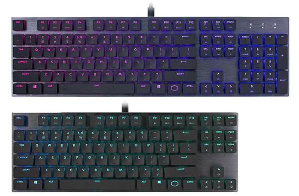 Deux nouveaux claviers chez CoolerMaster : le SK650 et le SK630