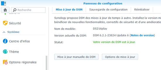 Une nouvelle mise à jour de DSM pour les NAS Synology