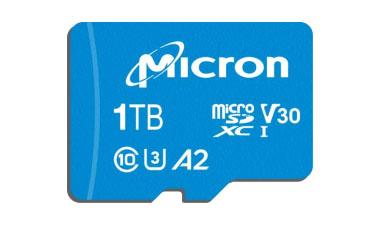 Micron lance aussi une carte microSDXC de 1 To