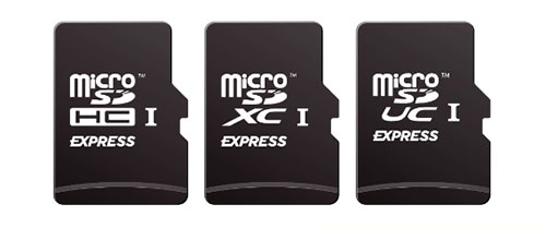 Les futures cartes micro SD Express atteindront 985 Mo/s
