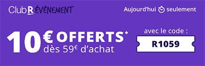 Bon Plan : Rakuten offre 10€ de remise aujourd'hui