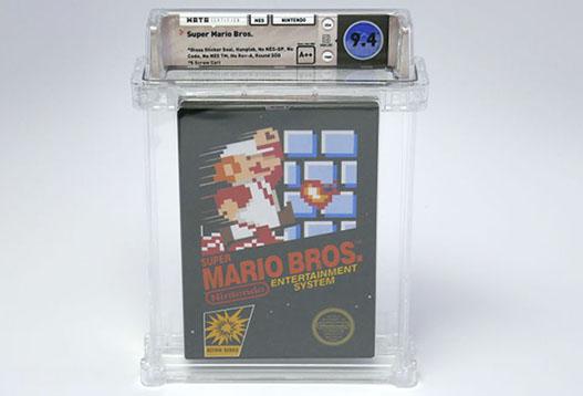 Nouveau record : le jeu Super Mario Bros a dépassé les 100.000 dollars lors d'une vente aux enchères