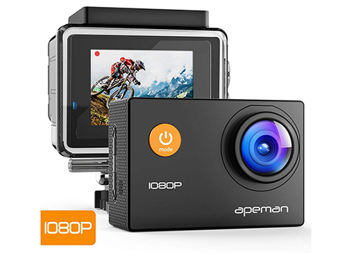 Bon Plan : la caméra sportive APEMAN A66 bradée à 19€ livrée sur Amazon.fr