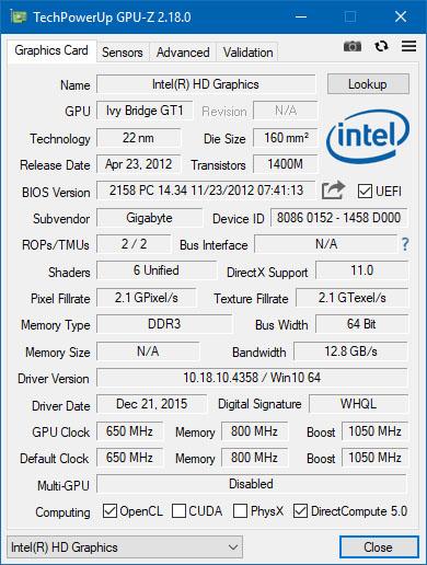 GPU-Z est disponible en version 2.18.0, quoi de neuf ?