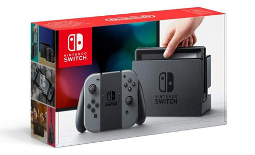 Bon Plan : la Nintendo Switch grise à 279€ sur Amazon.fr