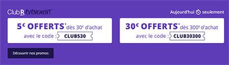 Bon Plan : Rakuten offre 5€ ou 30€ de réduction