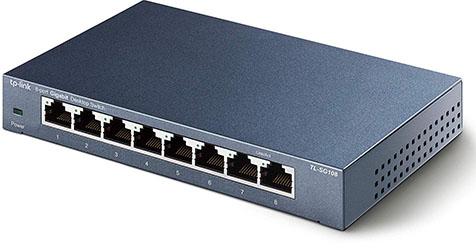 Vente flash : le switch 8 ports TP-Link TL-SG108 à 22 euros