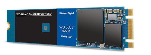 Western Digital dévoile un SSD M.2. NVMe d'entrée de gamme : le WD Blue SN500 (maj)
