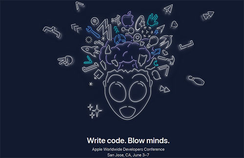 Apple officialise la WWDC 2019