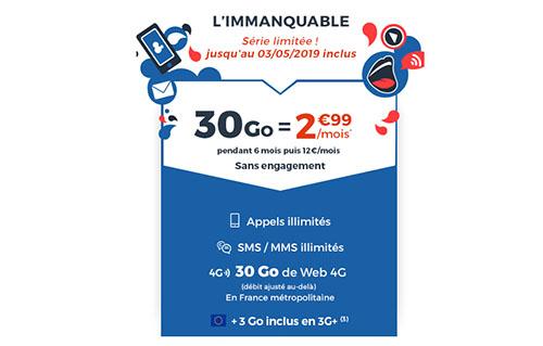 Bons Plans : le forfait CDiscount Mobile de 30 Go à 2,99€ par mois