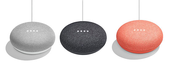 French Days : le Google Home Mini gris, noir ou corail à 22€ livré