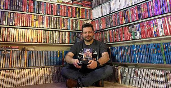 Antonio Monteiro : le plus grand collectionneur de jeux vidéo au monde