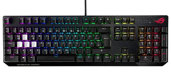 ASUS ROG lance le Strix Scope : un clavier haut de gamme pour les gamers