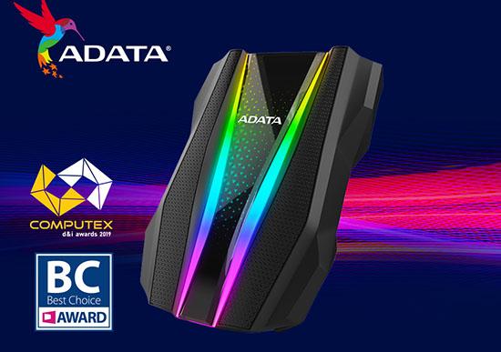 ADATA propose un disque dur portable RGB : le HD770G !