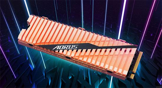 Gigabyte Aorus : un SSD de 2 To en PCI Express 4.0 qui envoie du lourd