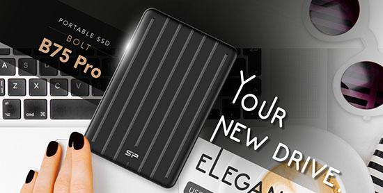 Un nouveau SSD portable USB C chez Silicon Power : le B75 Pro !