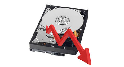 Les disques durs n'ont plus la côte : une baisse des ventes de 50% est annoncée
