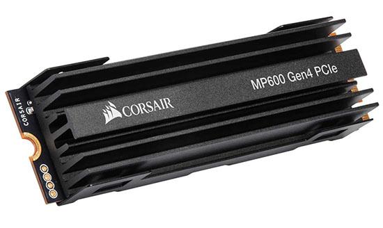 Corsair dégaine lui aussi un SSD en PCI Epxress 4.0 : le MP600 (maj)