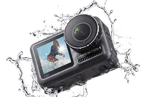 C'est officiel : DJI dégaine une caméra d'action pour concurrencer GoPro