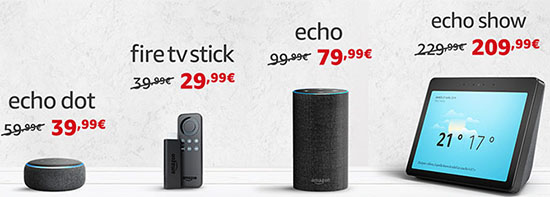 Bon Plan : Amazon baisse le prix des enceintes connectées Amazon Echo et du FireTV Stick