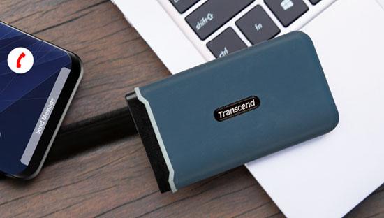 Transcend signe un SSD portable à la fois résistant et performant avec le ESD350C