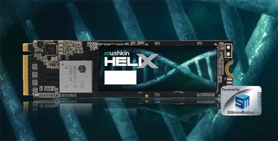 Mushkin Helix-L : un nouveau SSD M.2. NVMe qui carbure…