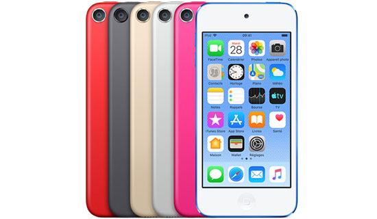 Surprise ! Un nouvel iPod Touch est annoncé !