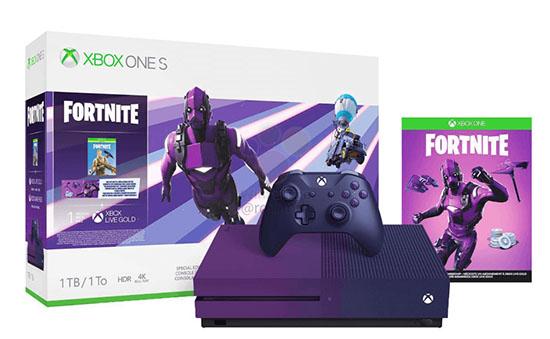 Bientôt une Xbox One S violette en édition limitée Fortnite ?