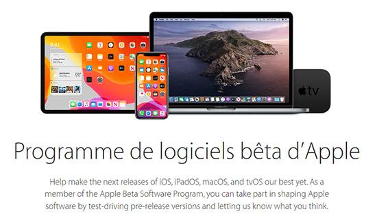 La beta publique d'iOS 13 est disponible en téléchargement