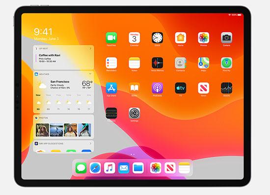 iPadOS 13.1 est disponible pour les tablettes Apple iPad